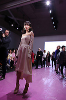 NEW YORK, NY - FEBRUARY 10: Shi Shi attends the show of Lanyu during New York Fashion Week on February 10, 2019 in  New York.   (Photo by Kena Betancur/VIEWpress)