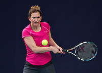 Hilversum, The Netherlands, March 12, 2016,  Tulip Tennis Center, NOVK, Sandy Wenderhold (NED)<br /> Photo: Tennisimages/Henk Koster