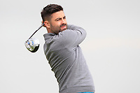 Sean Ryan (Royal Dublin) on the 2nd tee during Round 1 of The East of Ireland Amateur Open Championship in Co. Louth Golf Club, Baltray on Saturday 1st June 2019.<br /> <br /> Picture:  Thos Caffrey / www.golffile.ie<br /> <br /> All photos usage must carry mandatory copyright credit (© Golffile | Thos Caffrey)