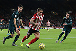 Billy Sharp of Sheffield United runs with the ball during the Premier League match at Bramall Lane, Sheffield. Picture date: 5th December 2019. Picture credit should read: James Wilson/Sportimage