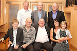 Tom Matthews celebrating his 65th birthday with his daughter Michelle, son Gary, son in law, Martin, brother Jim, nephew David, and grandchildren Holly and Rian in The Thatch...Picture Jenny Matthews/Newsfile.ie