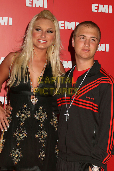 BROOKE & NICK HOGAN.EMI Post Grammy Party, Hollywood, California, USA..February 8th, 2006.Photo: Byron Purvis/AdMedia/Capital Pictures.Ref: BP/ADM.half length brother sister family siblings.www.capitalpictures.com.sales@capitalpictures.com.© Capital Pictures.