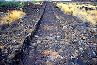 The Kingís Highway (or Mamalahoa Trail) is an ancient trail built in the 1800s, a part of the Naalahele Hawaii Statewide Trail & Access System, Kaloko-Honokohau National Monument