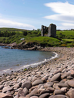 Minard Castle in Dingle, County Kerry.<br /> Picture by Don MacMonagle
