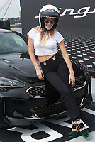 NEW YORK, NY - SEPTEMBER 12: Chelsea Leyland at Kia Race the Runway at  Pier 92/94 on September 12, 2017 in New York City. <br /> CAP/MPI99<br /> &copy;MPI99/Capital Pictures
