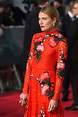London, UK. 14 February 2016. Model and actress Dree Hemingway. Red carpet arrivals for the 69th EE British Academy Film Awards, BAFTAs, at the Royal Opera House. © Vibrant Pictures/Alamy Live News
