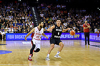 New Zealand Tall Blacks' Jarrod Kenny in action during the FIBA World Cup Basketball Qualifier - NZ Tall Blacks v Syria at TSB Bank Arena, Wellington, New Zealand on Sunday 2 2018. <br /> Photo by Masanori Udagawa. <br /> www.photowellington.photoshelter.com