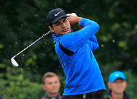 Julian Suri (USA) on the 6th tee during Round 3 of the D+D Real Czech Masters at the Albatross Golf Resort, Prague, Czech Rep. 02/09/2017<br /> Picture: Golffile | Thos Caffrey<br /> <br /> <br /> All photo usage must carry mandatory copyright credit     (&copy; Golffile | Thos Caffrey)