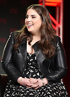 PASADENA, CA - FEBRUARY 4:  Cast Members Beanie Feldstein during the WHAT WE DO IN THE SHADOWS panel for the 2019 FX Networks Television Critics Association Winter Press Tour at The Langham Huntington Hotel on February 4, 2019 in Pasadena, California. (Photo by Frank Micelotta/FX/PictureGroup)