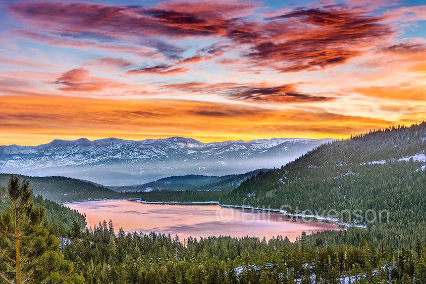 Donner Lake near Truckee, California