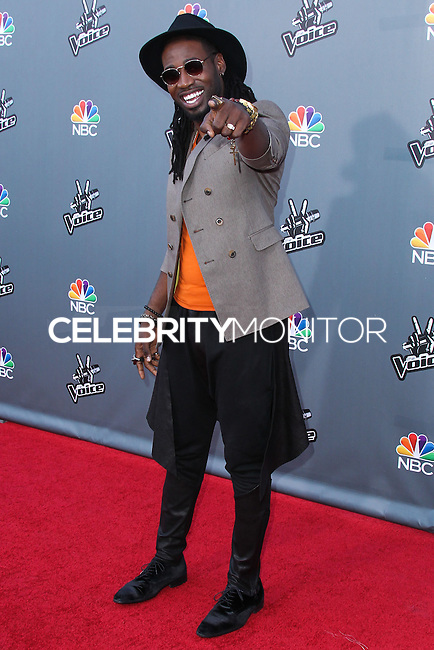 "UNIVERSAL CITY, CA, USA - APRIL 15: Delvin Choice at NBC's ""The Voice"" Season 6 Top 12 Red Carpet Event held at Universal CityWalk on April 15, 2014 in Universal City, California, United States. (Photo by Xavier Collin/Celebrity Monitor)"