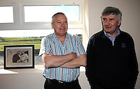 Mick O'Dwyer and Paidi O'Se  in Waterville.<br /> Photo Don MacMonagle