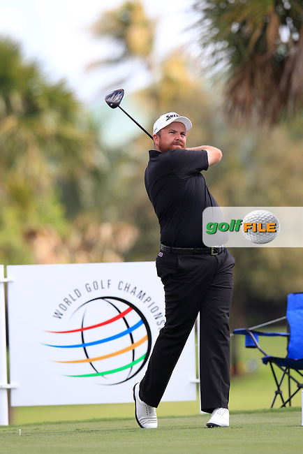 Shane Lowry (IRL) during the 1st round at the WGC Cadillac Championship, Blue Monster, Trump National Doral, Doral, Florida, USA<br /> Picture: Fran Caffrey / Golffile