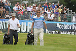 Dragons Den star Peter Jones walks off the first tee during the practice round.<br /> Celebrity Cup Golf<br /> Celtic Manor Resort<br /> 04.07.14<br /> &copy;Steve Pope-SPORTINGWALES