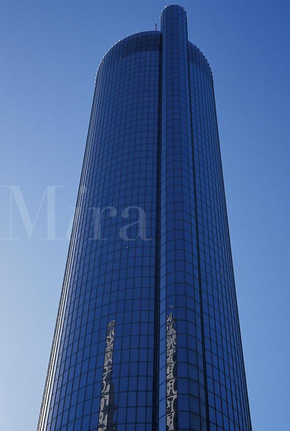 high rise hotel, Atlanta, Georgia, GA, The Westin Peachtree Plaza Hotel in downtown Atlanta.