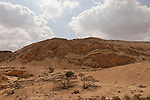 Israel, Wadi Rahash and Mount Masor in the Arava