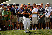 Phil Mickelson during the final round of the Quail Hollow Championship at Quail Hollow Country Club on May 2, 2010 in Charlotte, North Carolina.  The event, formerly called the Wachovia Championship, is a top event on the PGA Tour, attracting such popular golf icons as Tiger Woods, Vijay Singh and Bubba Watson. Photo from the final round in the Quail Hollow Championship golf tournament at the Quail Hollow Club in Charlotte, N.C., Sunday , May 03, 2009..