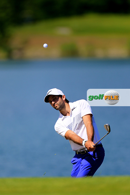 Jo&euml;l Stalter (FRA) during the third round of the Lyoness Open powered by Organic+ played at Diamond Country Club, Atzenbrugg, Austria. 8-11 June 2017.<br /> 10/06/2017.<br /> Picture: Golffile | Phil Inglis<br /> <br /> <br /> All photo usage must carry mandatory copyright credit (&copy; Golffile | Phil Inglis)