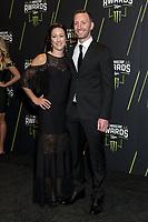 LAS VEGAS, NV - NOVEMBER 30: Carrie Pearn and Cole Pearn arriving to the 2017 NASCAR Sprint Cup Awards at The Wynn Hotel & Casino in Las Vegas, Nevada on November 30, 2017. Credit: Damairs Carter/MediaPunch /NortePhoto NORTEPHOTOMEXICO