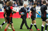 England Rugby Head Coach Eddie Jones. Natwest 6 Nations match between France and England on March 10, 2018 at the Stade de France in Paris, France. Photo by: Patrick Khachfe / Onside Images