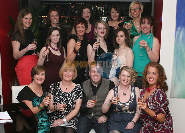 Mumstown Operation Transformation Team Toast their Success in Romanza, Dyer Street...Photo NEWSFILE/Jenny Matthews.(Photo credit should read Jenny Matthews/NEWSFILE)....This Picture has been sent you under the condtions enclosed by:.Newsfile Ltd..The Studio,.Millmount Abbey,.Drogheda,.Co Meath..Ireland..Tel: +353(0)41-9871240.Fax: +353(0)41-9871260.GSM: +353(0)86-2500958.email: pictures@newsfile.ie.www.newsfile.ie.FTP: 193.120.102.198.
