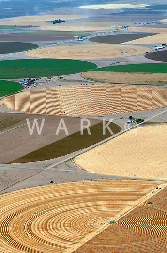 San Luis Valley crop circles. August 2011