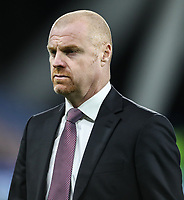 Burnley's manager Sean Dyche <br /> <br /> Photographer Andrew Kearns/CameraSport<br /> <br /> The Premier League - Huddersfield Town v Burnley - Wednesday 2nd January 2019 - John Smith's Stadium - Huddersfield<br /> <br /> World Copyright © 2019 CameraSport. All rights reserved. 43 Linden Ave. Countesthorpe. Leicester. England. LE8 5PG - Tel: +44 (0) 116 277 4147 - admin@camerasport.com - www.camerasport.com