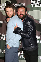 """LOS ANGELES - FEB 25:  Max Thieriot and Judd Lormand at the """"Seal Team"""" Screening at the ArcLight Hollywood on February 25, 2020 in Los Angeles, CA"""