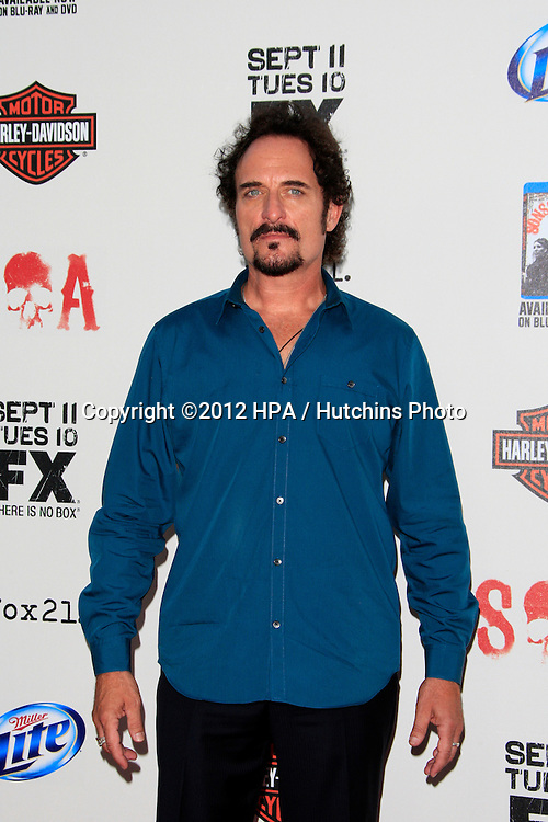 """LOS ANGELES - SEP 8:  Kim Coates arrives at the """"Sons of Anarchy"""" Season 5 Premiere Screening at Village Theater on September 8, 2012 in Westwood, CA"""