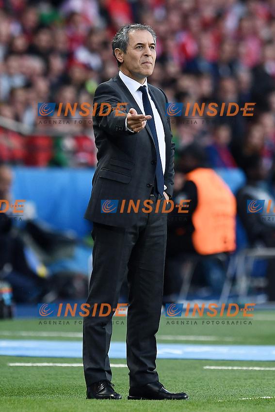 Marcel Koller <br /> Paris 18-06-2016 Parc Des Princes Football Euro2016 Portugal - Austria / Portogallo - Austria Group Stage Group F. Foto Matteo Gribaudi / Image Sport / Insidefoto