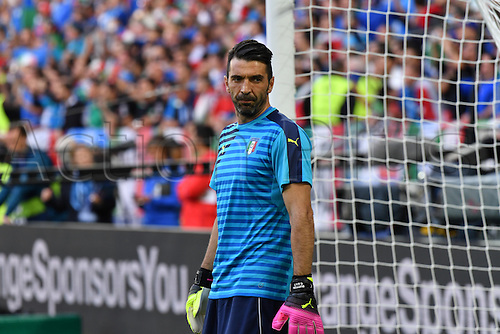 02.07.2016. Bordeaux, France. @016 European football championships. Quarterfinals match. Germany versus Italy.  Gianluigi Buffon(ita) during warm-up