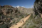 Mountain Bike Race through the Cedarberg Mountains, Western Cape South Africa