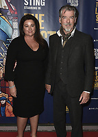 """LOS ANGELES - JANUARY 22:  Pierce Brosnan and Keely Brosnan at the opening night of """"The Last Ship"""" on January 22, 2020 at the Ahmanson Theatre in Los Angeles, California. (Photo by Scott Kirkland/PictureGroup)"""