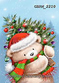 Roger, CHRISTMAS ANIMALS, WEIHNACHTEN TIERE, NAVIDAD ANIMALES, paintings+++++,GBRM2210,#xa#