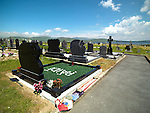 PAIDI O'SE GRAVE IN VENTRY, COUNTY KERRY 2014.<br /> Photo: Don MacMonagle <br /> e: info@macmonagle.com