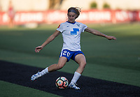 Seattle, WA - Saturday July 15, 2017: Christen Westphal during a regular season National Women's Soccer League (NWSL) match between the Seattle Reign FC and the Boston Breakers at Memorial Stadium.