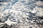 Southwest flight from Las Vegas, Nevada, to Sacremento, California...Caples Lake, Kirkwood and Silver Lake..Alpine, El Dorado and Amador Counties