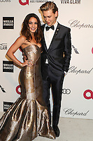 WEST HOLLYWOOD, CA - MARCH 2: Vanessa Hudgens, Austin Butler attending the 22nd Annual Elton John AIDS Foundation Academy Awards Viewing/After Party in West Hollywood, California on March 2nd, 2014. Photo Credit: SP1/Starlitepics. /NORTePHOTO