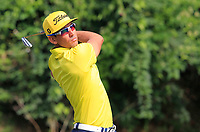 Raffa Cabrera Bello (ESP) on the 5th tee during Round 4 of the UBS Hong Kong Open, at Hong Kong golf club, Fanling, Hong Kong. 26/11/2017<br /> Picture: Golffile | Thos Caffrey<br /> <br /> <br /> All photo usage must carry mandatory copyright credit     (&copy; Golffile | Thos Caffrey)