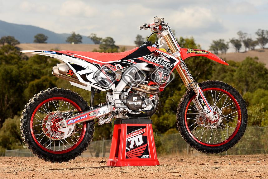 Jake Emanuelli's Wilsons Jetpilot MX Honda 250<br />