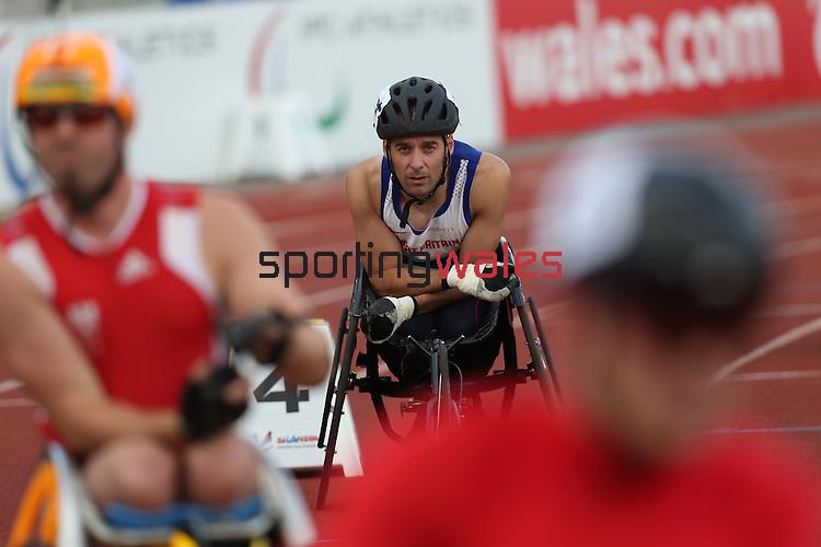 IPC European Athletics Championship 2014<br /> Rob Smith GBR<br /> Men's 400m T52<br /> Swansea University<br /> 20.08.14<br /> &copy;Steve Pope-SPORTINGWALES