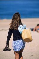 Europe/France/Aquitaine/33/Gironde/Bassin d'Arcachon/Arcachon/Pilat-Plage: La plage du Petit Nice