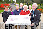 A cheque for €12,500 was presented Tuesda) to the Donal Walsh #Livelife Foundation as a result of the Donal's Day event during the Rose of Tralee International Festival last August. Pictured were: Elma Walsh, Oliver Hurley, Danny Leane, Breda Dyland, Mark Sullivan and Ciarán O'Nualláin.