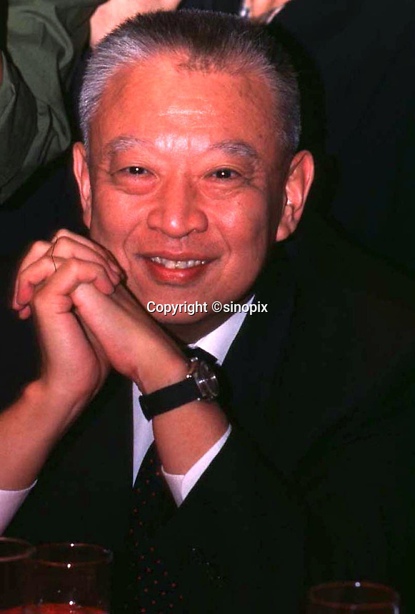 290897: HONG KONG: TUNG CHEE HWA<br /> <br /> TUNG CHEE HWA, AFTER A PRESS CONFERENCE IN HONG KONG.<br /> <br /> PHTO BY FREDERIC BROWN / SINOPIX
