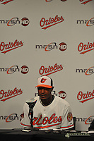 Orioles' Adam Jones Press Conference