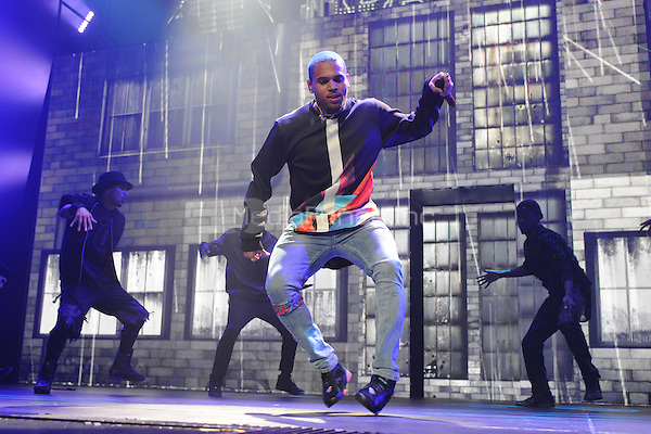 SUNRISE FL - FEBRUARY 12: Chris Brown performs on the opening night of his tour at The BB&T Center on February 12, 2015 in Hollywood, Florida. Credit: mpi04/MediaPunch