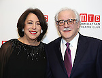 Lynne Meadow and husband attends the 2016 Manhattan Theatre Club's Fall Benefit at 583 Park Avenue on November 21, 2016 in New York City.