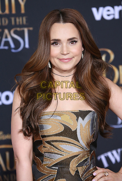 02 March 2017 - Hollywood, California - Rosanna Pansino. Disney's &quot;Beauty and the Beast' World Premiere held at El Capitan Theatre.   <br /> CAP/ADM/FS<br /> &copy;FS/ADM/Capital Pictures