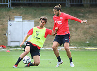 Lucas Torro (Eintracht Frankfurt), Goncalo Paciencia (Eintracht Frankfurt) - 28.08.2018: Eintracht Frankfurt Training, Commerzbank Arena, DISCLAIMER: DFL regulations prohibit any use of photographs as image sequences and/or quasi-video.