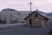 D&amp;RGW Gato depot and surroundings.<br /> D&amp;RGW  Gato (Pagosa Junction), CO